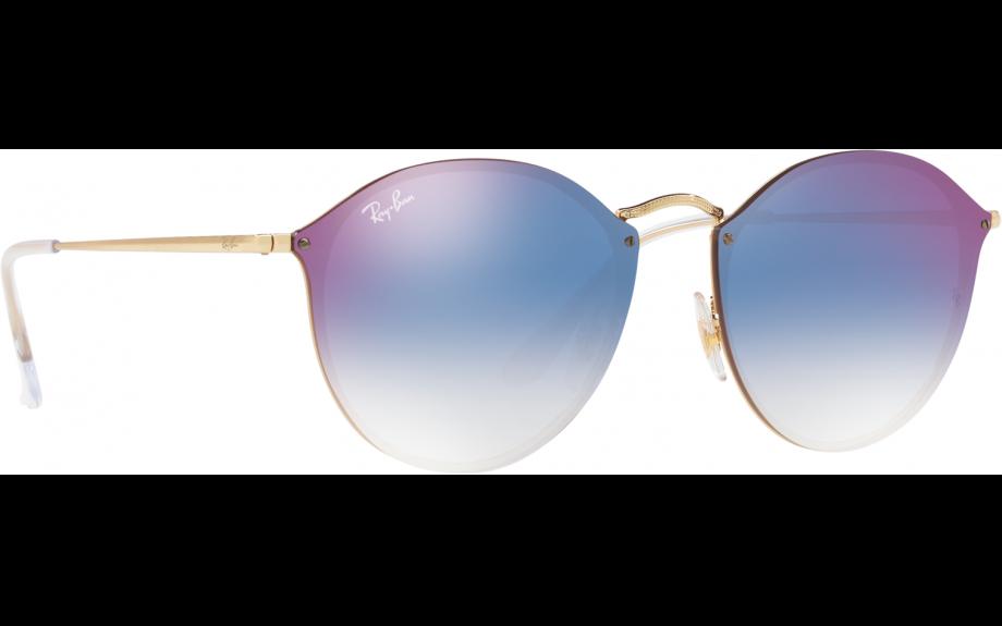 ad334c0735 Ray-Ban Blaze Round RB3574N 001 X0 59 Sunglasses - Free Shipping ...