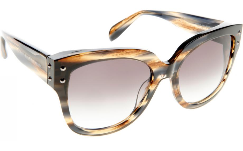 1a0cfd5b98a8 Alexander McQueen AM0051S 002 57 Sunglasses - Free Shipping